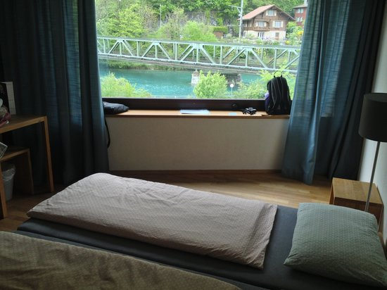 Interlaken Youth Hostel: Room with a view