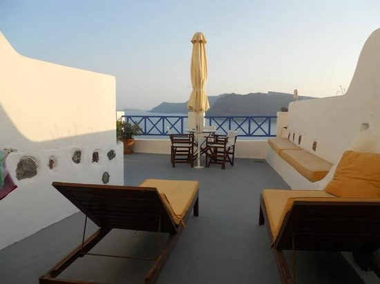 Esperas: our terrace