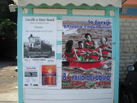 Ciccillo a Mare: Conosciuto in occasione del palio (Ciccillo sponsor )