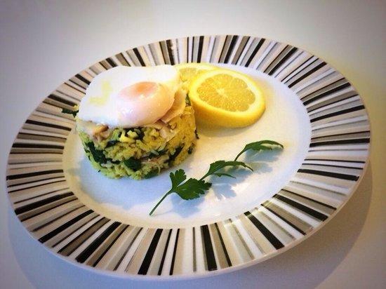 The Metropolitan: Kedgeree for breakfast