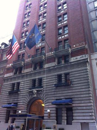 Club Quarters Hotel, Midtown : Vista do hotel