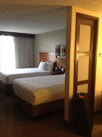 Hyatt Place Orlando Universal: double beds