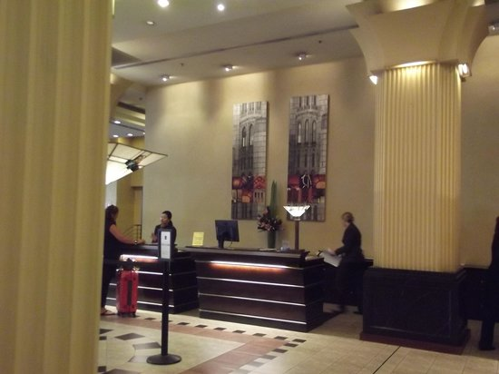 The Grace Hotel Sydney: Reception Area