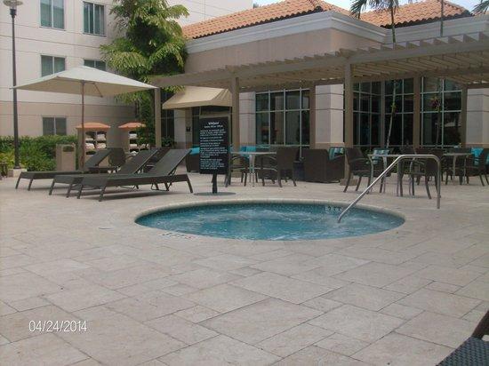 Hampton Inn & Suites San Juan: The Whirlpool