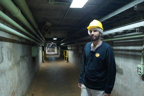 Usina Hidrelétrica Itaipu: Passeio interno