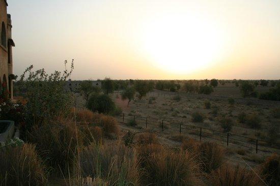Mihir Garh : Sunrise over the desert