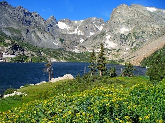 Ward, Колорадо: Lake Isabelle - Indian Peaks Wilderness