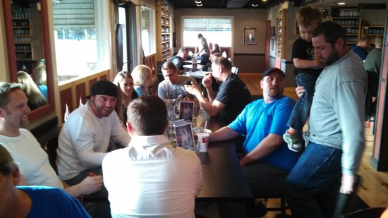 White Flame Brewing Company: Geocaching event.