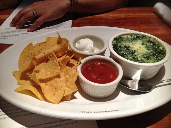 Woodmont Grill : Chicago Spinach Dip