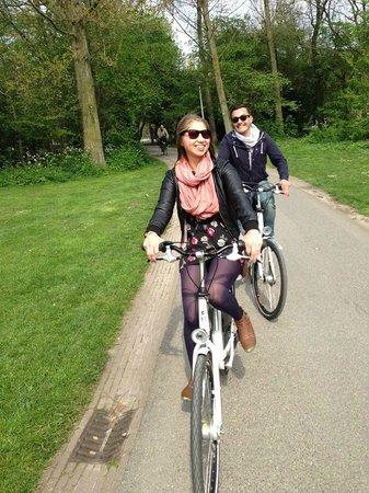We Bike Amsterdam Tours: We Bike Amsterdam - biking through Vondelpark