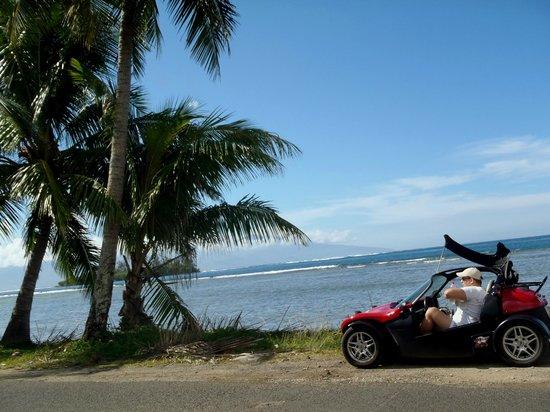 Moorea Fun Roadster: découverte de l'île en roadster