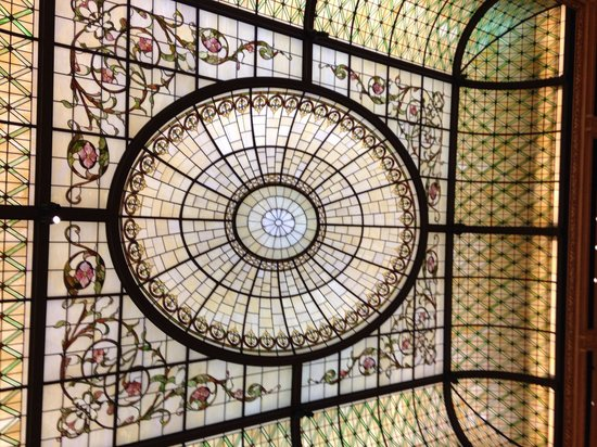 The Plaza: Stainglass