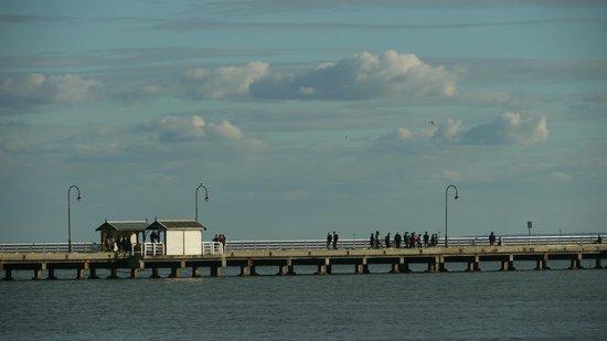 St. Kilda Beach: St Kilda Pier