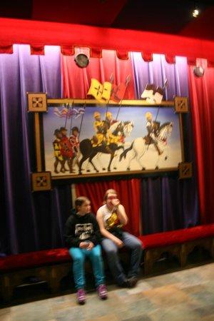 Medieval Times: Lobby Art