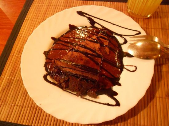 Moinho Ibérico: Bolo de chocolate