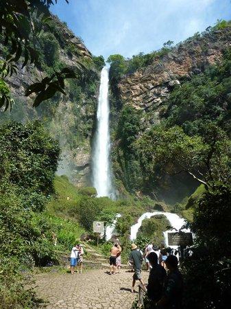 Salto do Itiquira Falls: Visão da queda