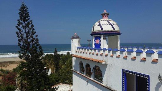 Villa Belmar Beach Hotel: Terraza avitacion 17