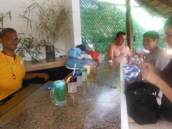 Park Royal Huatulco: en la actividad de cokteleria que dio mi buen amigo oscar