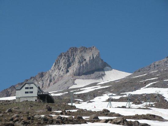 Mount Hood: Topo do vulcão