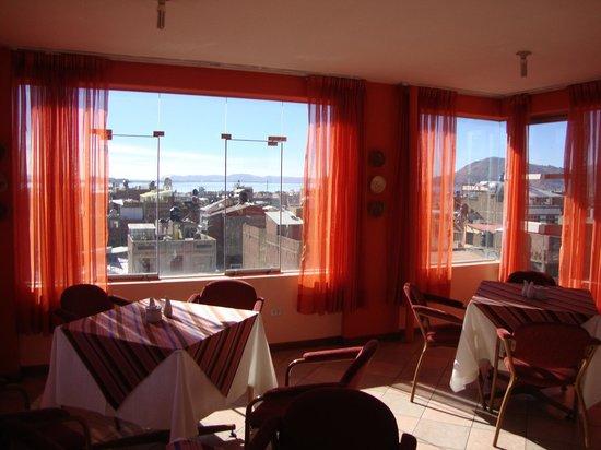 Hotel Hacienda Puno: vista del comedor