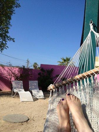 The Hotelito: our private patio