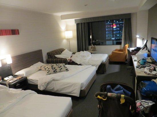 Nagoya Tokyu Hotel : room