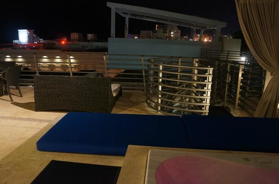 Z Ocean Hotel South Beach: the terrace