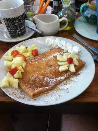 Mango and Nutella crepe, to die for. - Foto di Cafe Hidalgo, Isla ...