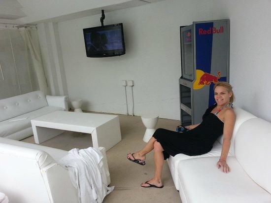 Tropicana Las Vegas - A DoubleTree by Hilton Hotel : Cabana area by pool