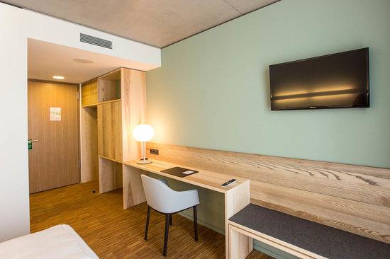 Hotelzimmer Green City Hotel Vauban Zimmer 12