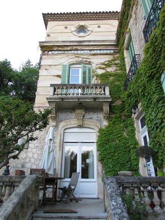 Part of the main house at Moulin de la Roque