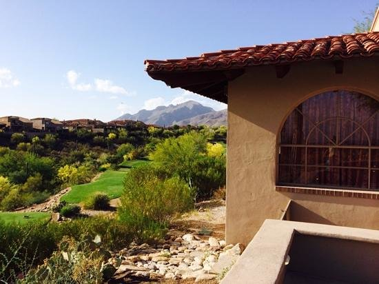 Westin La Paloma Resort and Spa: view from poppy
