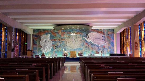 United States Air Force Academy : Catholic Chapel