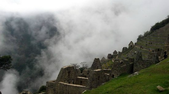 Piuray Hostal Cusco: Macchu Picchu view (not from Cuzco)