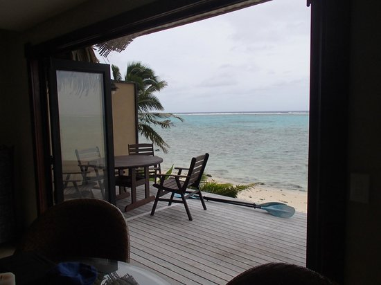 Rumours Luxury Villas and Spa: view from the lounge of the villa