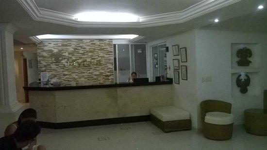 Hotel Tayrona : Recepcion