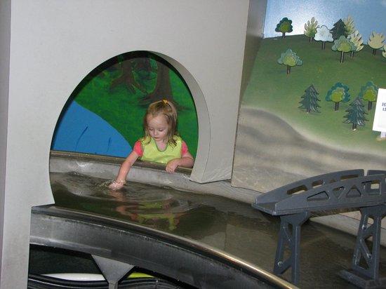 Cincinnati Museum Center at Union Terminal: Water Works was a favorite!
