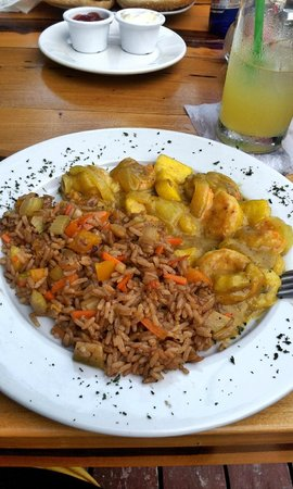 Barlito : Too sweet Carribean Shrimp
