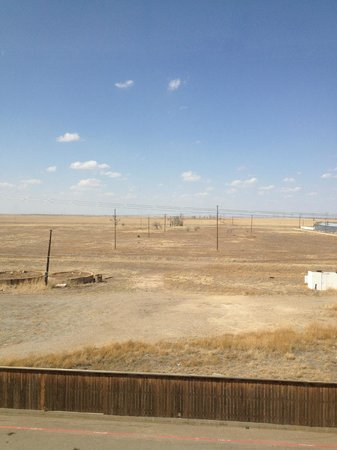 Hilton Garden Inn Amarillo: The West TX view in Amarillo