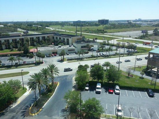 Crowne Plaza Orlando - Universal Blvd : Vista do 11o. andar