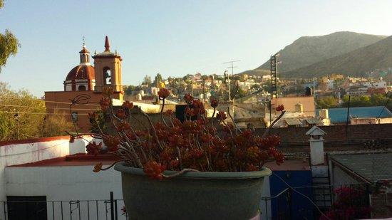 Al Son de los Santos: On the rooftop. Early morning view