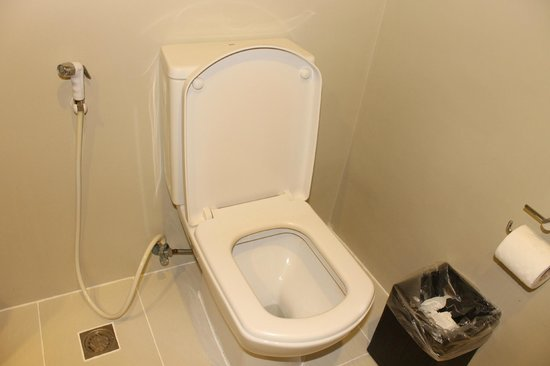 Sheridan Beach Resort and Spa : Clean rest room