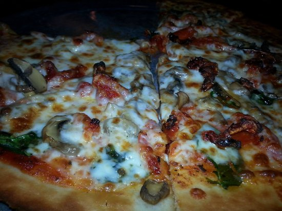 Pepperoni's Gourmet Pizza - Black Mountain: Gluten Free- with your choice of toppings or as a Gourmet styl