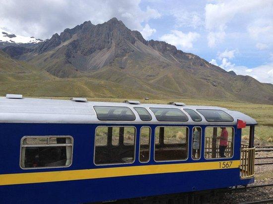 PeruRail Andean Explorer: Stop at La Raya Pass (4313m)