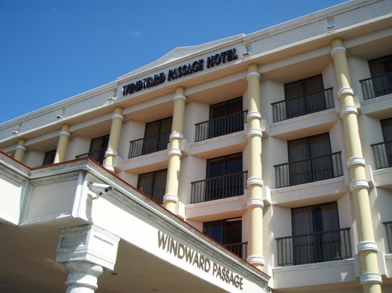 Windward Passage Hotel: Front of the Hotel