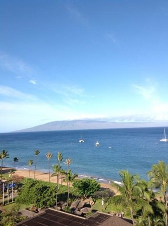 Aston at The Whaler on Kaanapali Beach : View from our room at The Whaler
