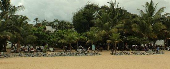 My Blue Hotel: Fachada (frente a praia)