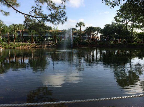 Champions World Resort: Lago