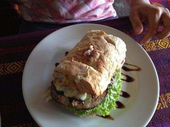 San Telmo Restaurant: Veggie Pannini