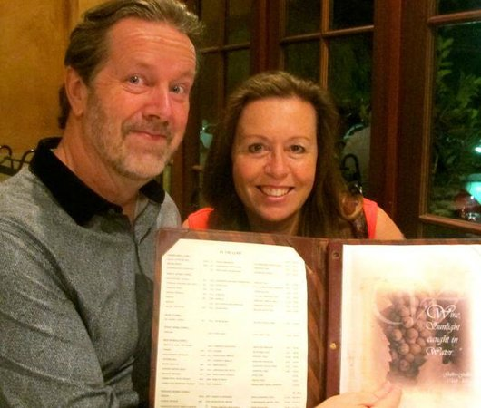 Galileo Buona Cucina: Artist, Alison Jane Rice enjoys fine dining at Galileo Restaurant Perth WA